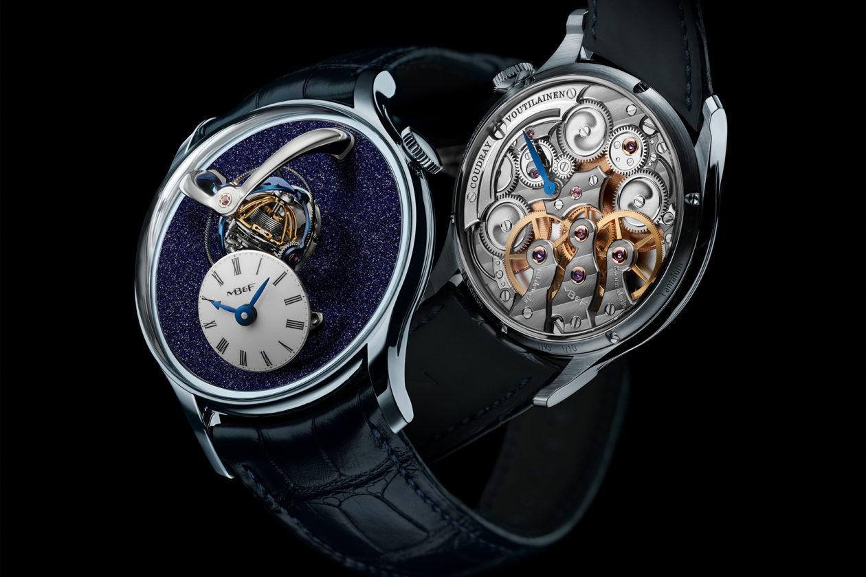 MB&F Legacy Machine Thunderdome The Hour Glass