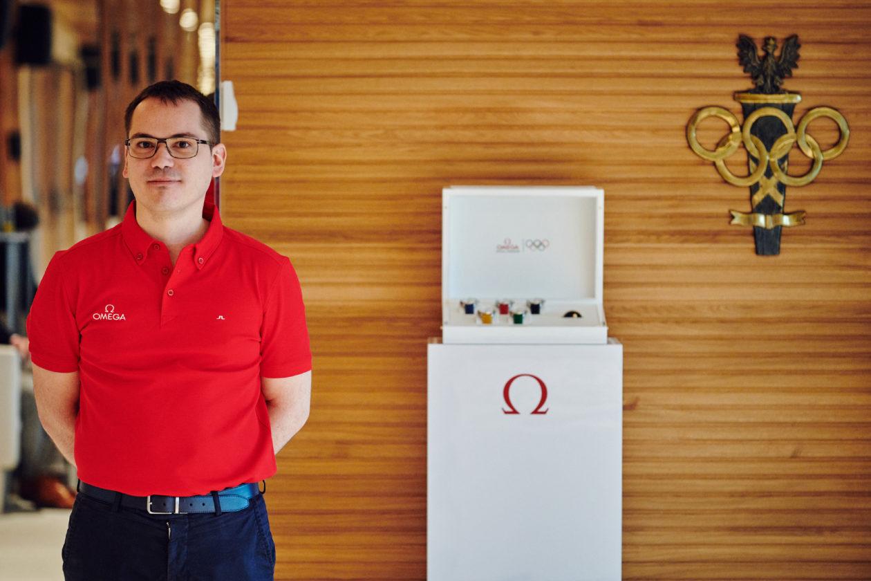 Maxime Gourgouillat, dyrektor marki Omega w Polsce