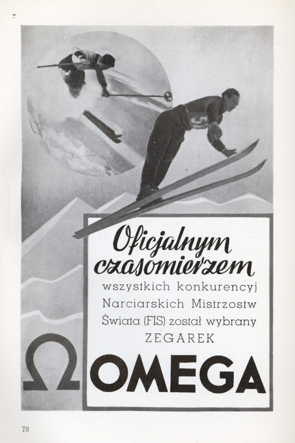 Reklama Omegi