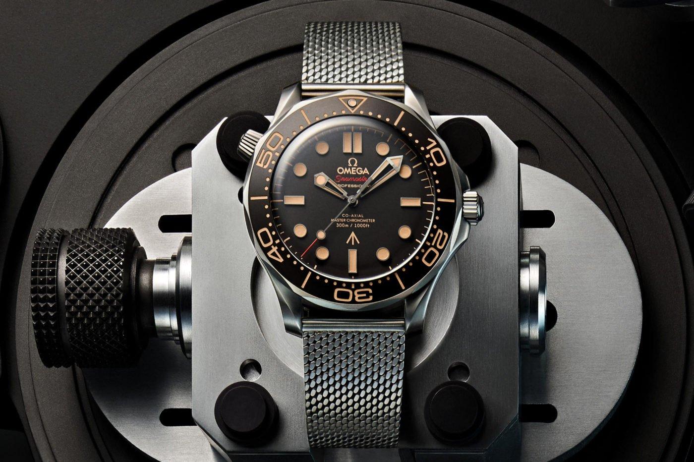 Omega Seamaster Diver 300M 007 Edition – oficjalny zegarek Jamesa Bonda w filmie No Time To Die [dostępność, cena]