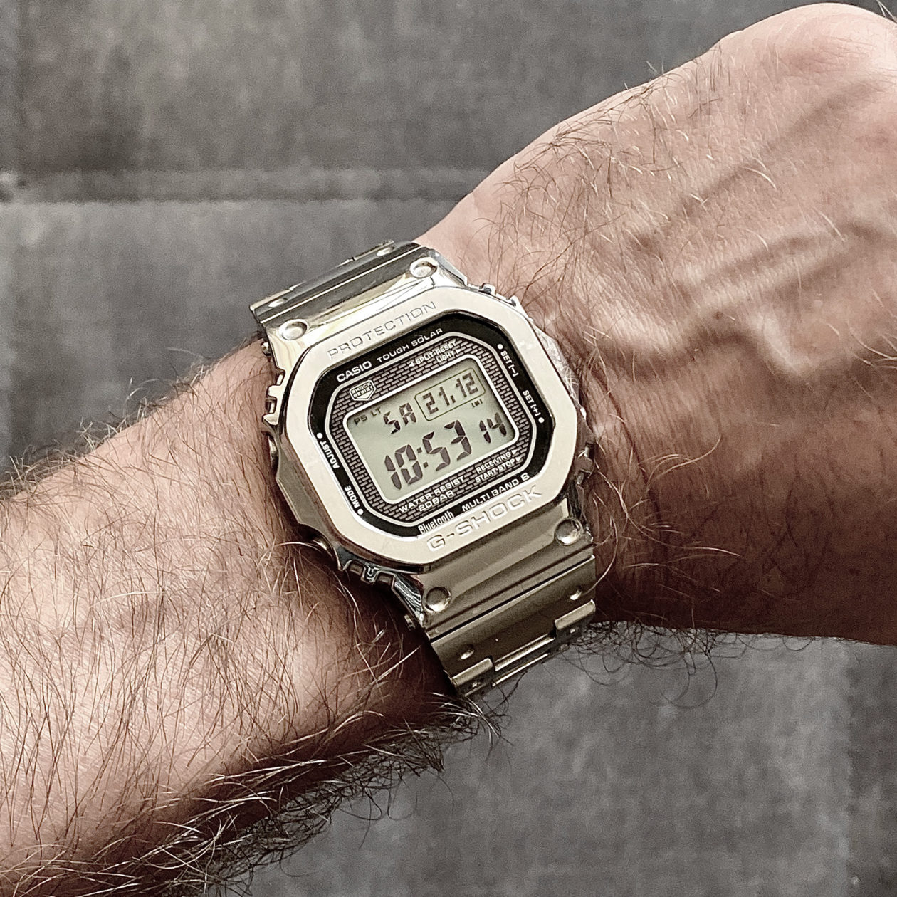 Casio G-Shock GMW B5000