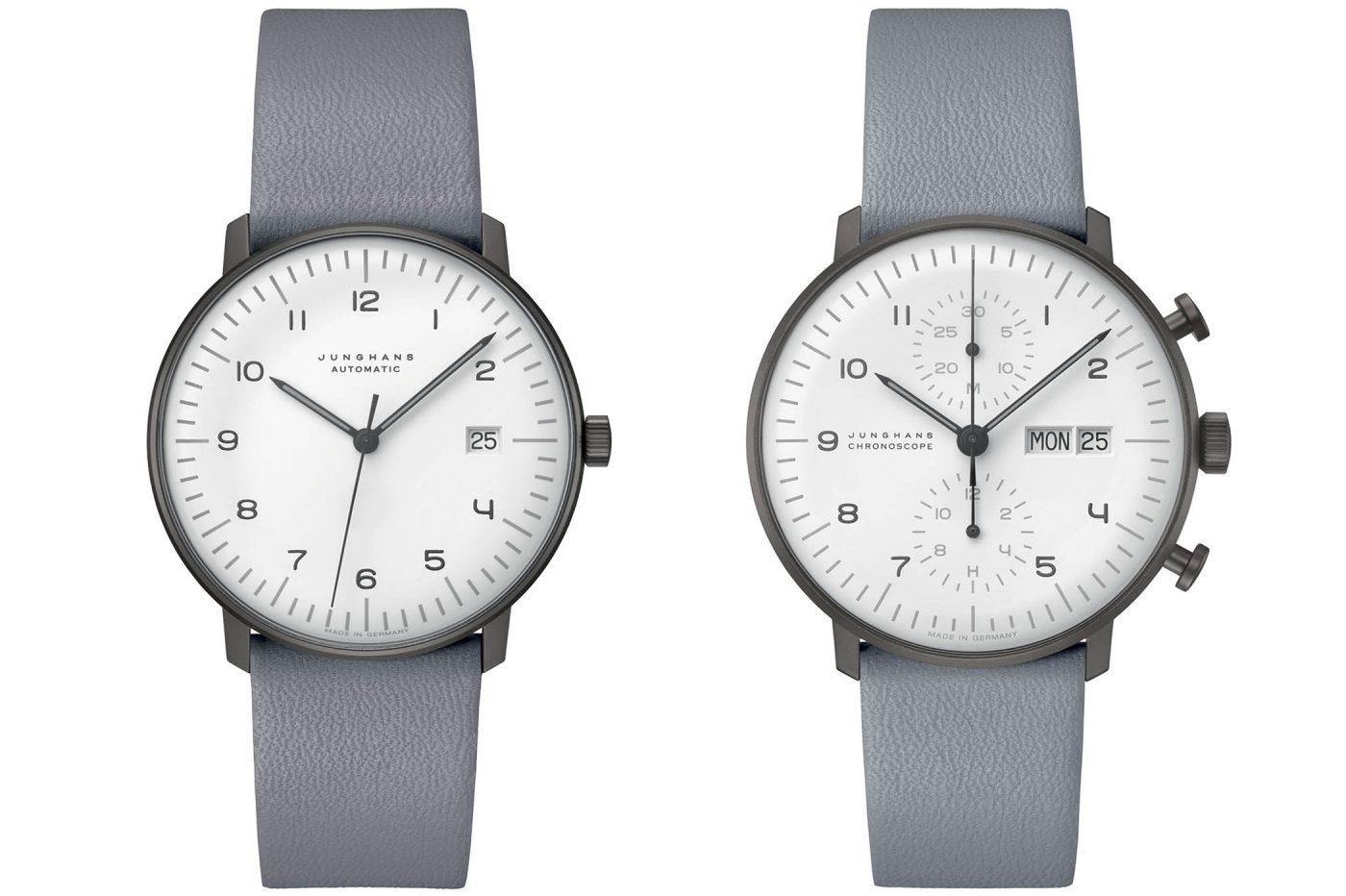 Junghans max bill Chronoscope i Automatic w wersji Black & White [cena]