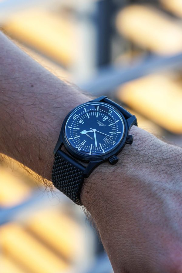 Longines Legend Diver All-Black