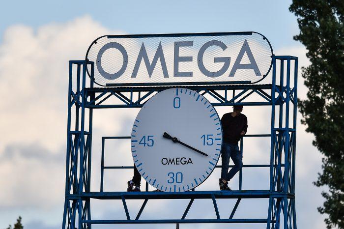 Zegar stadionowy Omega