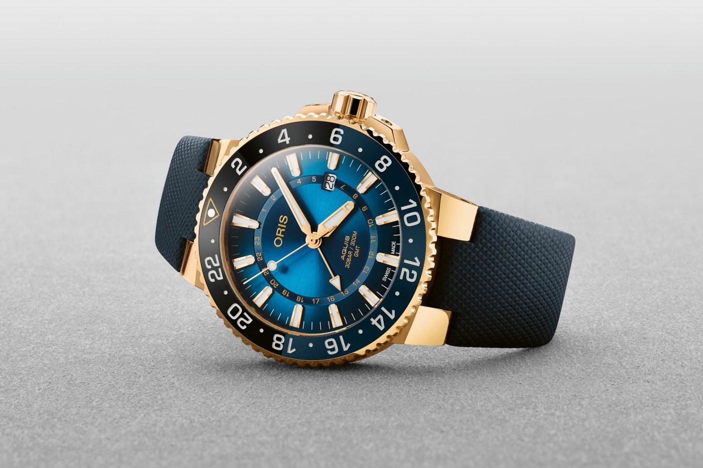 Oris Aquis GMT Carysfort Reef LE