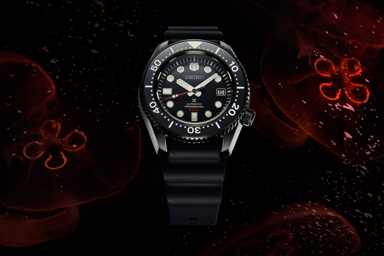 "Seiko Prospex ""The Black Series"" Marinemaster"