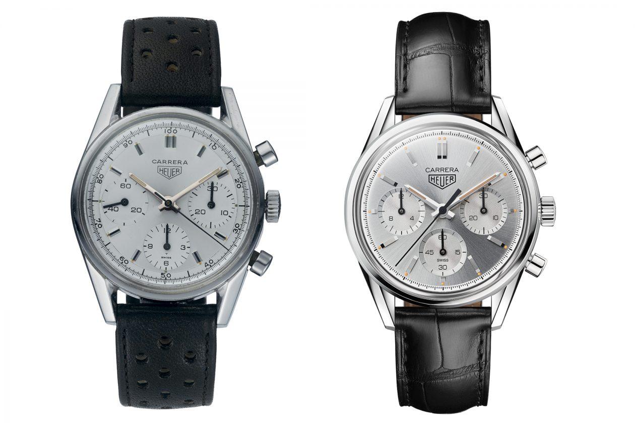 Carrera 2477 (po lewej) i nowa Carrera 160 Years Silver LE