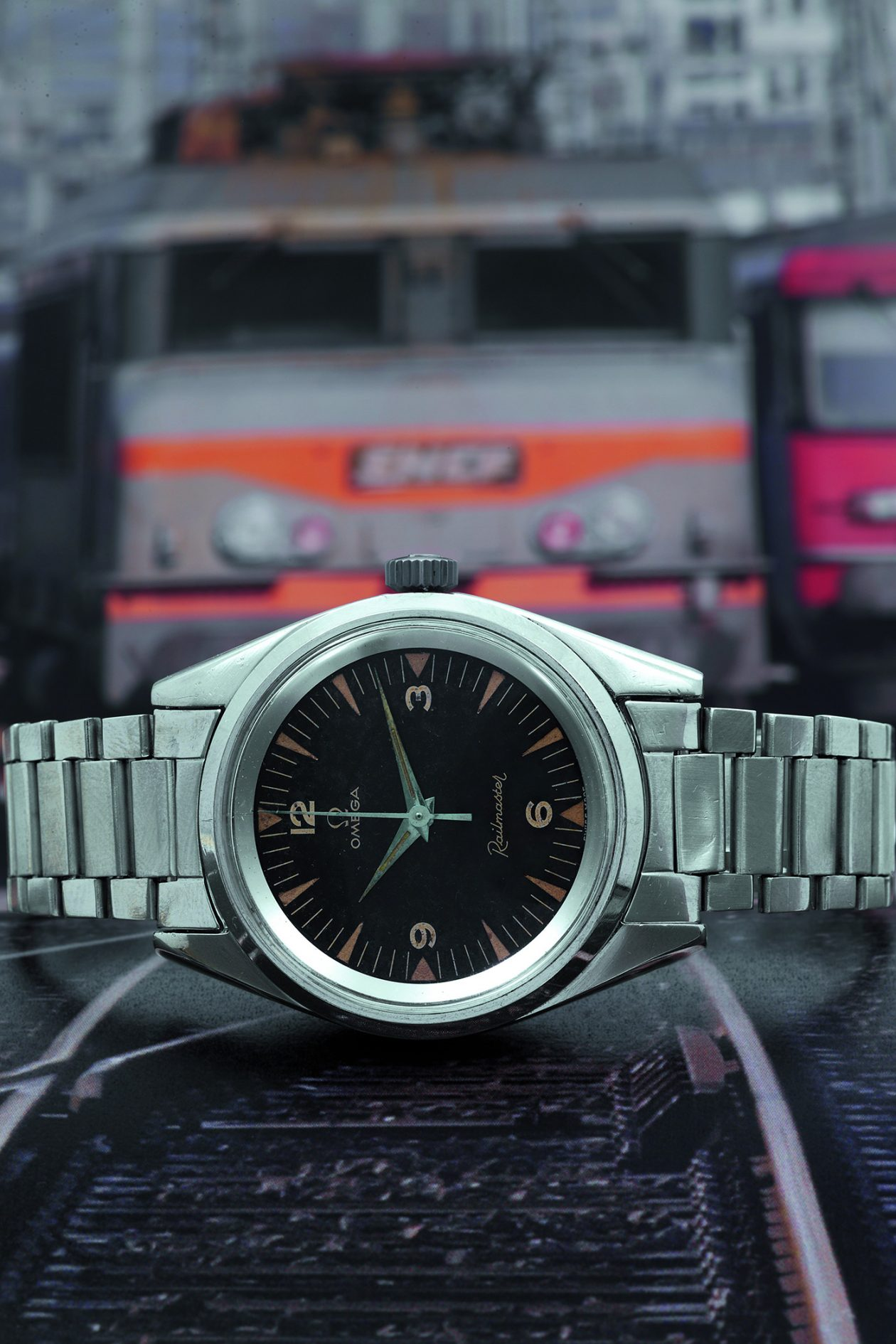Omega Railmaster / foto: Antiquorum