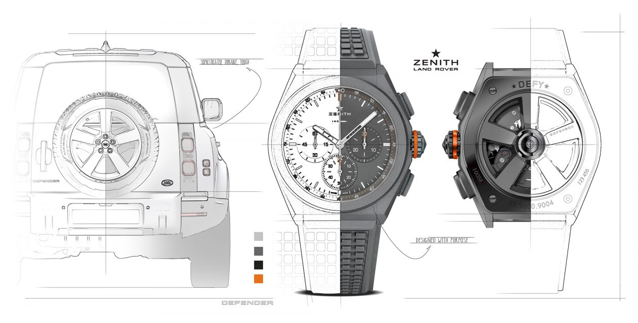 Zenith Defy 21 Land Rover Edition