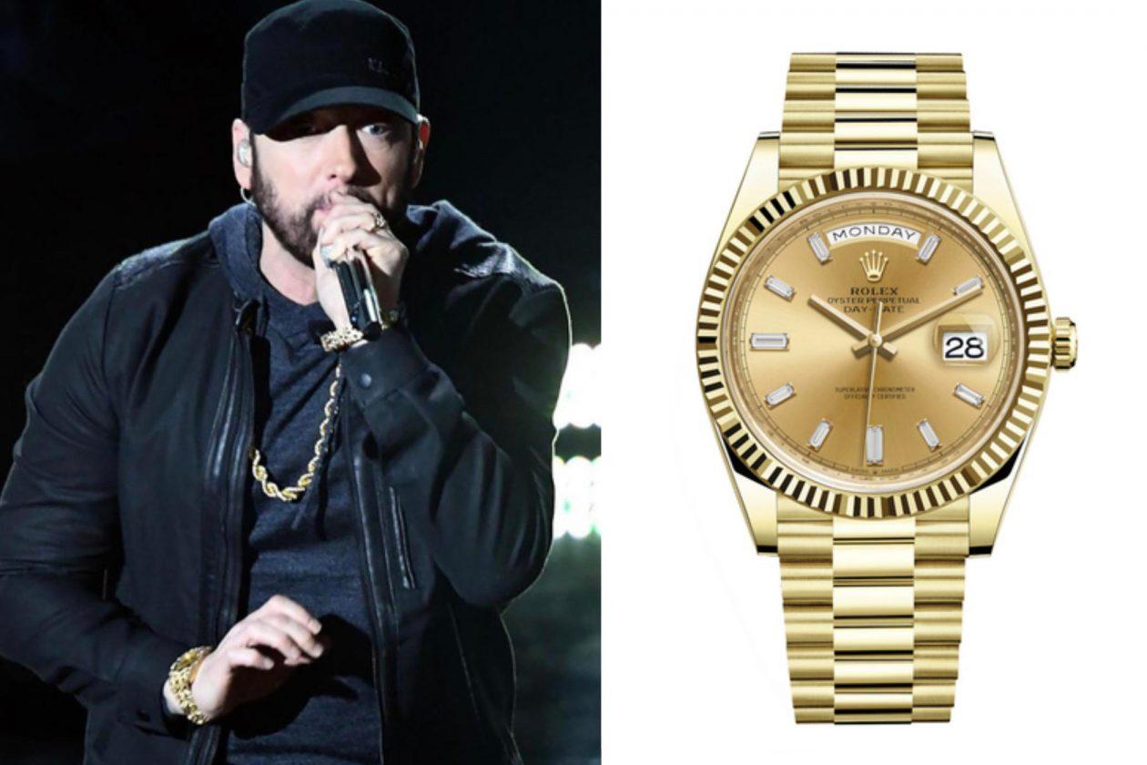 Eminem i Rolex / foto: ABC