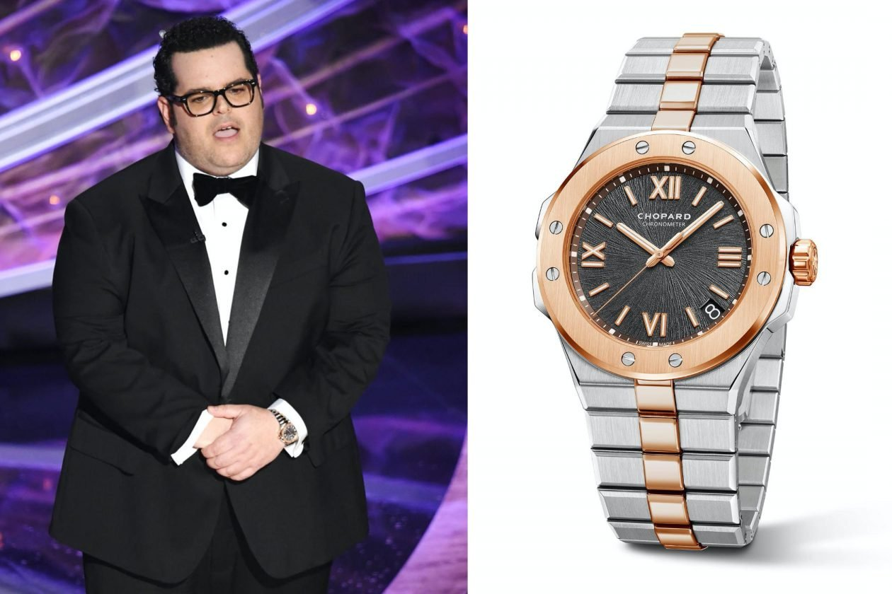 Josh Gad i Chopard Alpine Eagle / foto: Kevin Winter Getty Images