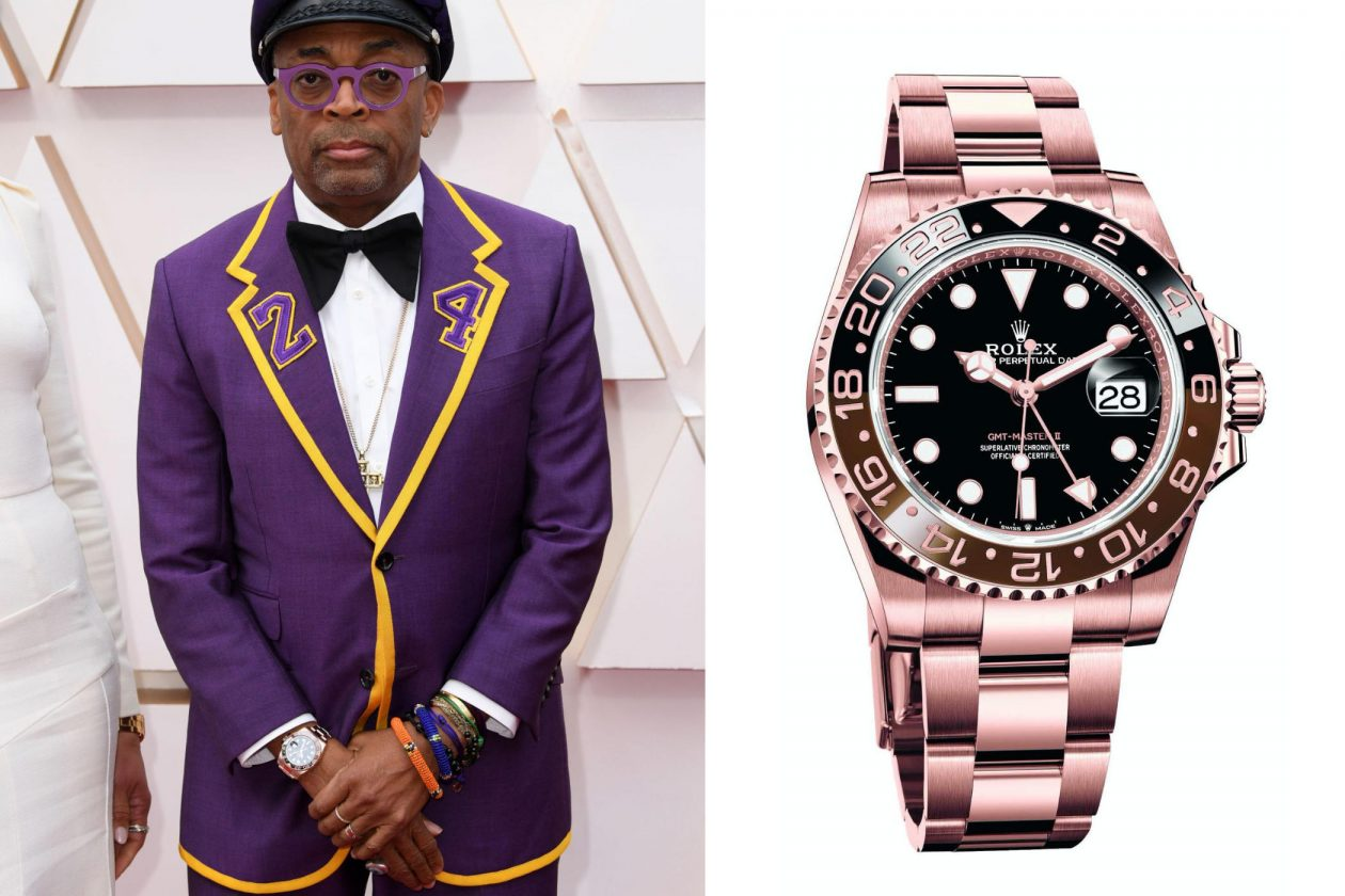"Spike Lee i Rolex GMT-Master ""Root Beer"" / foto: David Fisher Shutterstock"