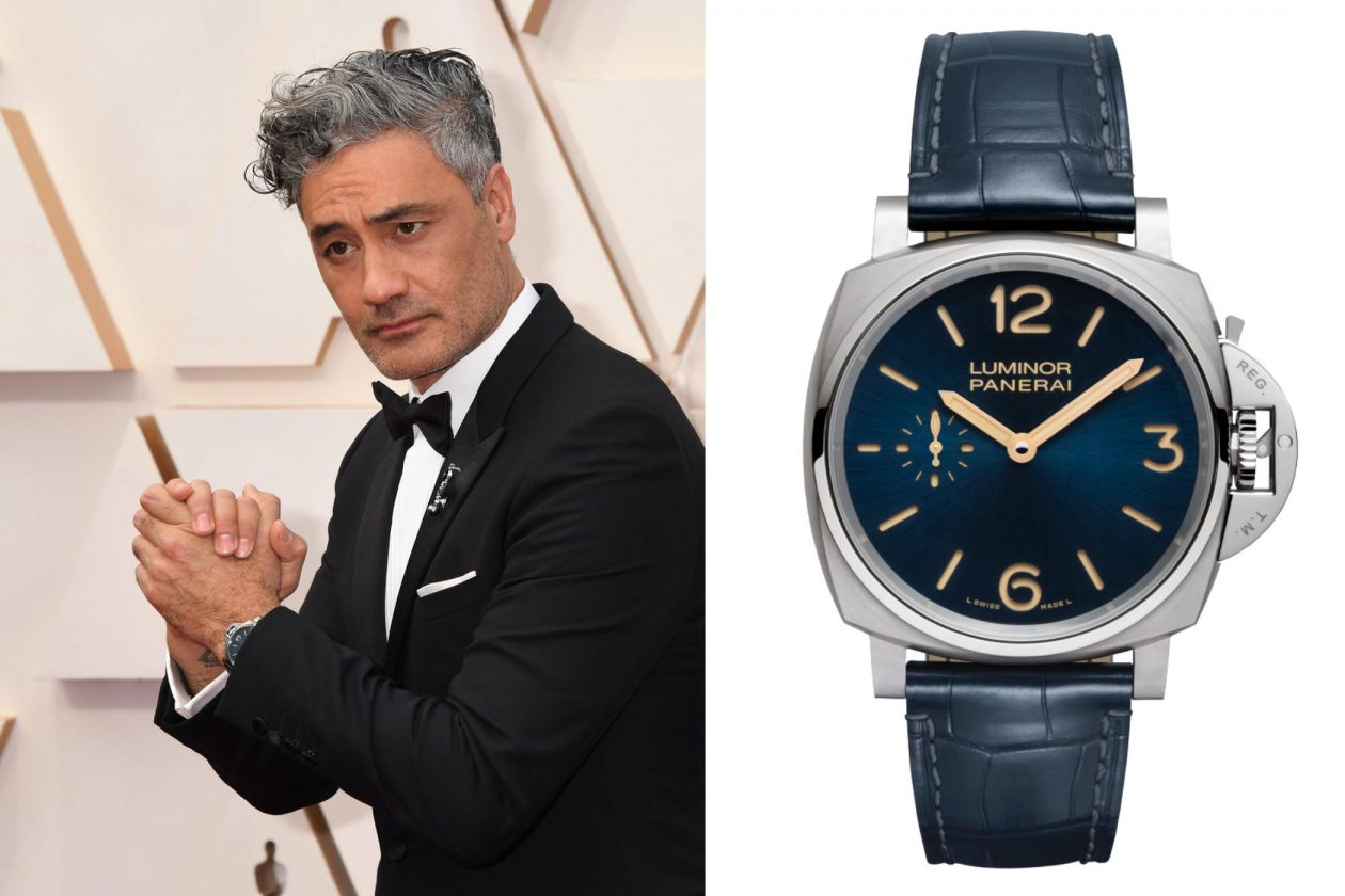 Taika Waititi i Panerai PAM728 / foto: Jeff Kravitz Getty Images
