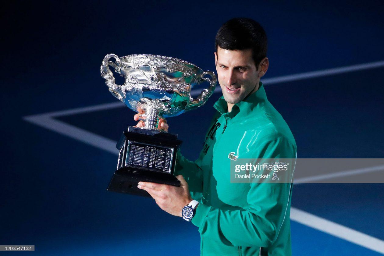Novak Djokovic wygrywa Australian Open 2020 / foto: gettimages.com