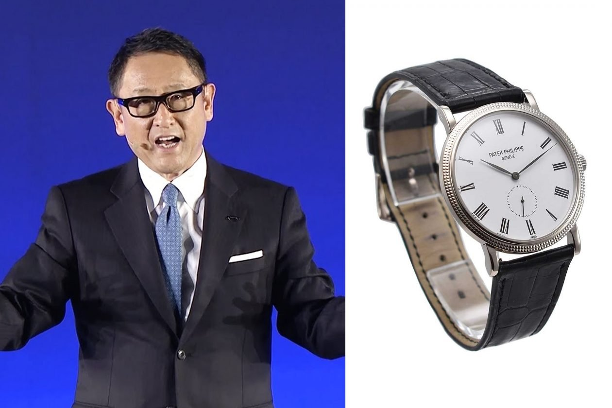 Akio Toyoda i Patek Philippe / foto: essentialwatches