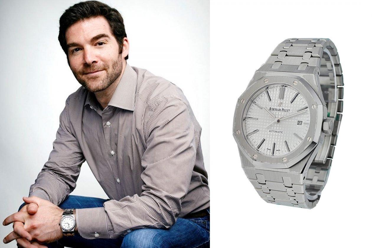 Jeff Weiner i Audemars Piguet / foto: essential-watches.com