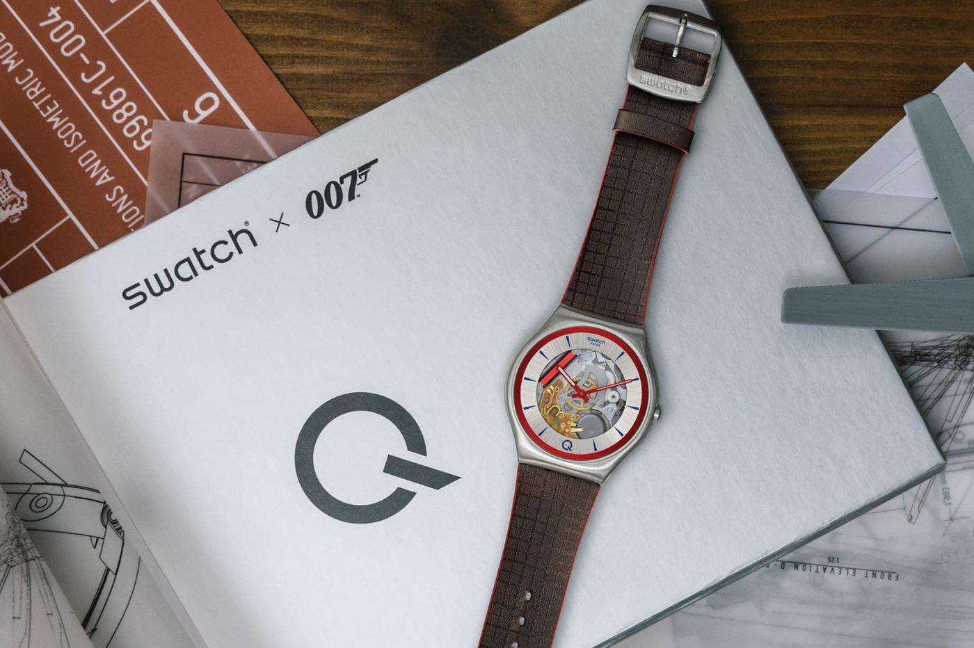 Swatch X 007 – limitowany model Skin Irony przygotowany dla Q [dostępność, cena]