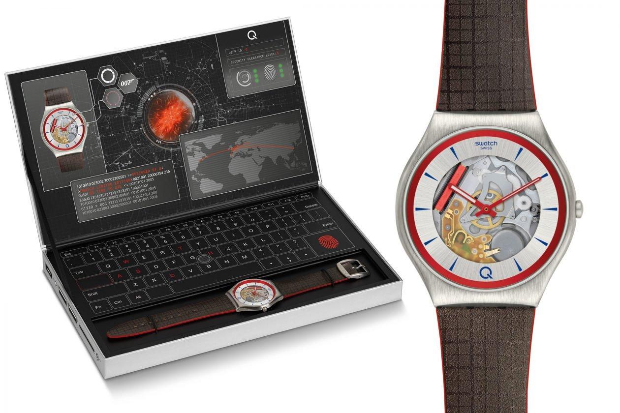 Swatch X 007 - Skin Irony przygotowany dla Q