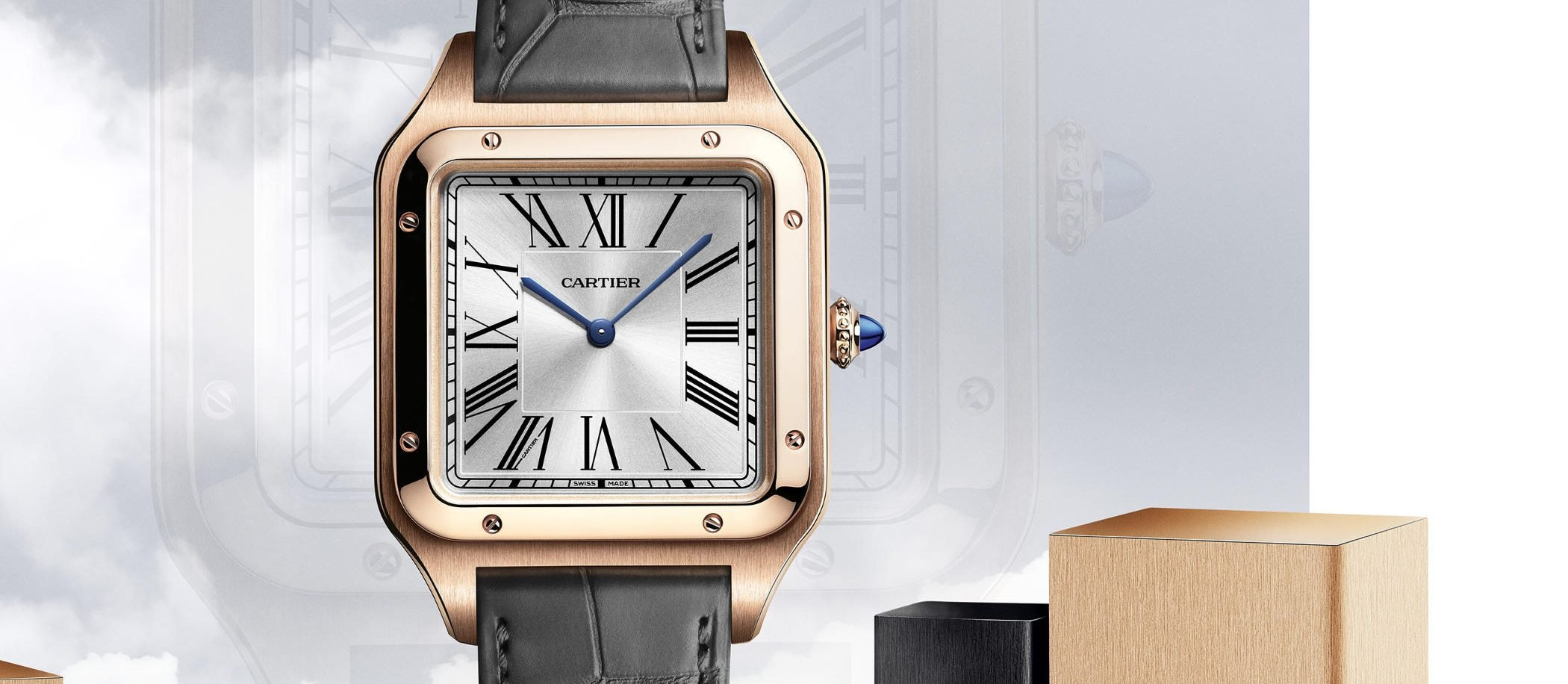 Cartier Santos-Dumont XL