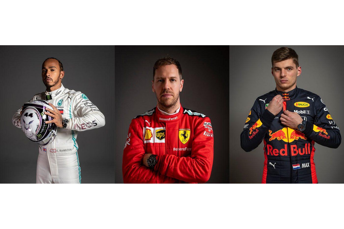 Zegarki kierowców F1