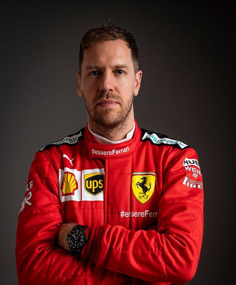 Sebastian Vettel i Hublot