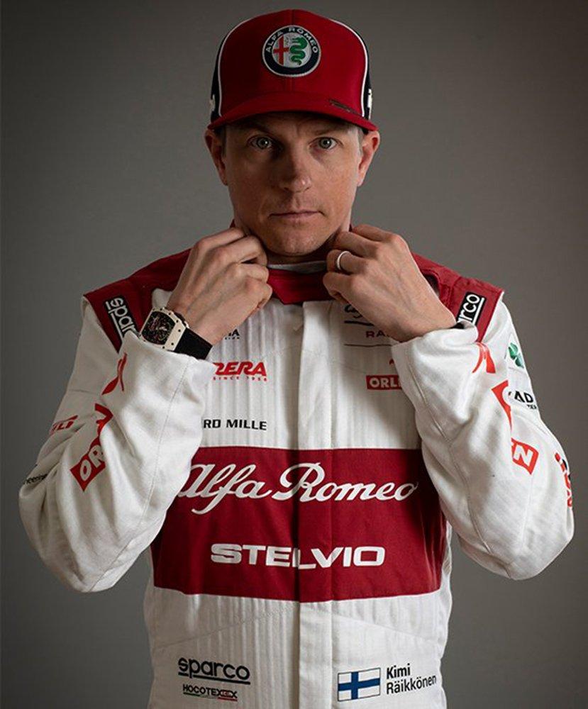 Kimi Raikkonen i Richard Mille
