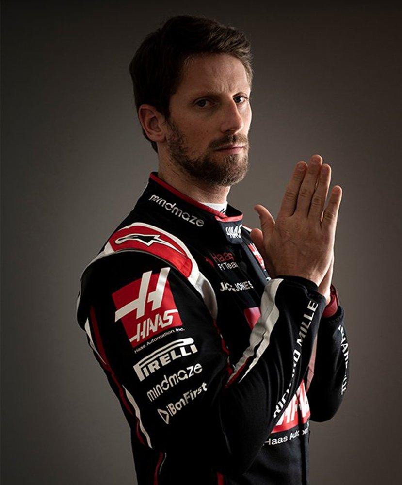 Romain Grosjean i Richard Mille