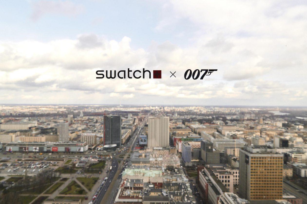 Prezentacja kolekcji Swatch X 007 w Warszawie