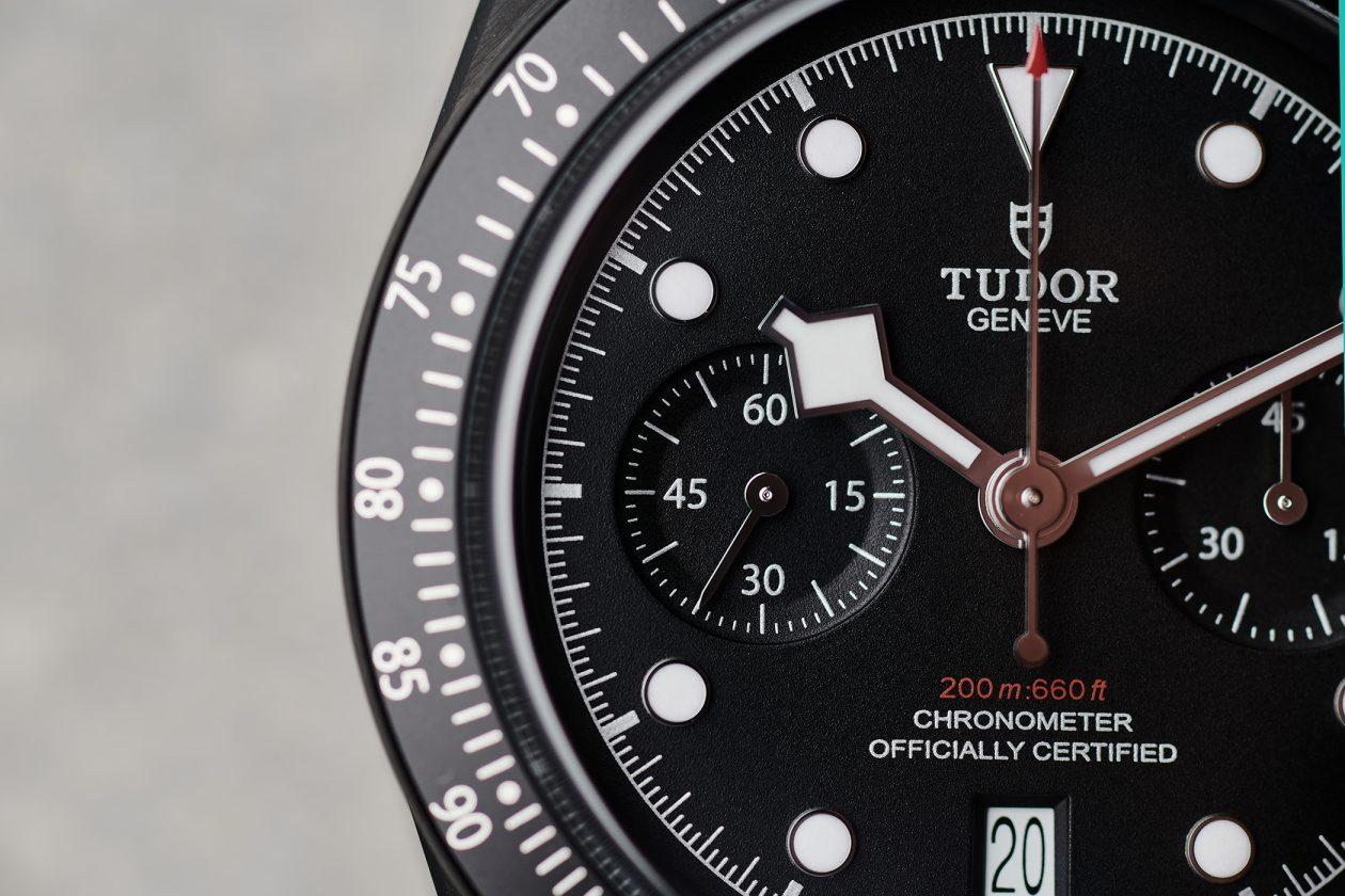 Tudor Black Bay Chrono Dark