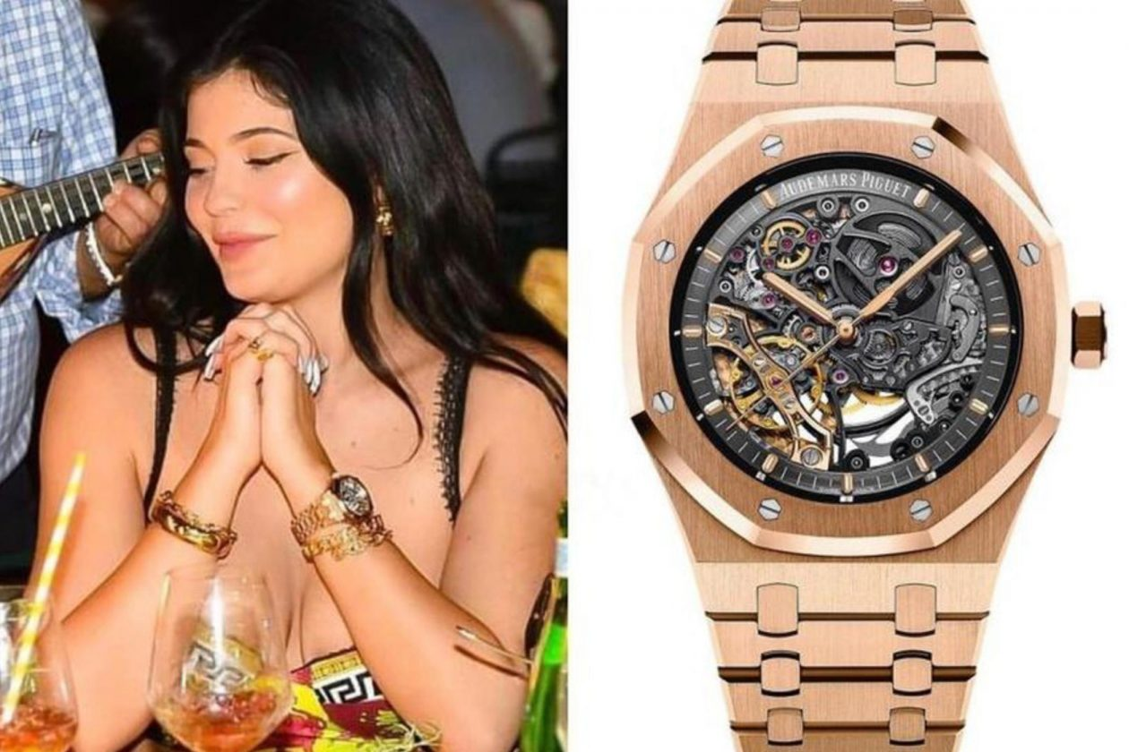 Kylie Jenner and AP Double Balance Wheel Openworked / foto: baomoi
