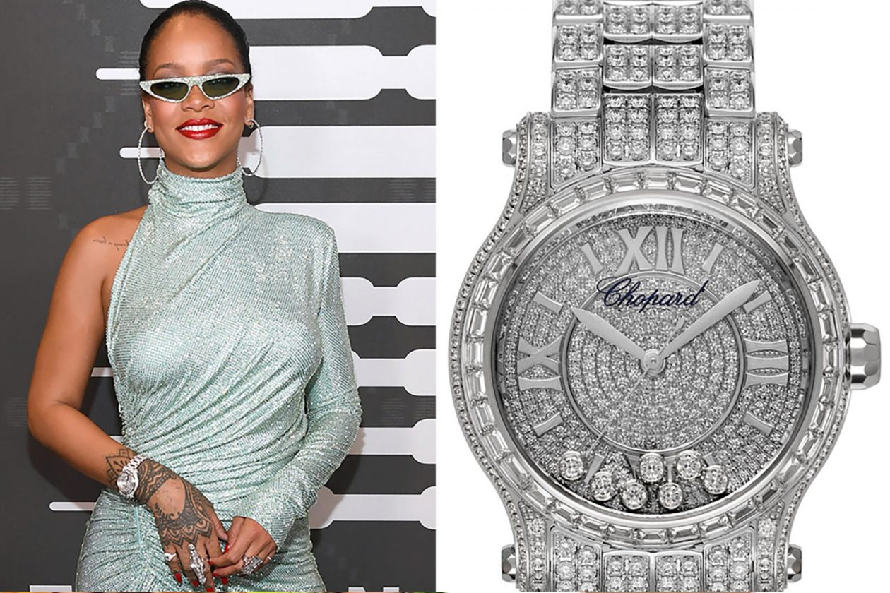 Rihanna and Chopard / foto: thenypost.com