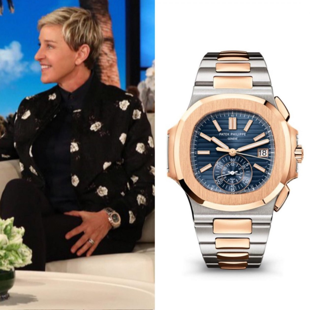 Ellen DeGeneres and PP / foto: pbs.com