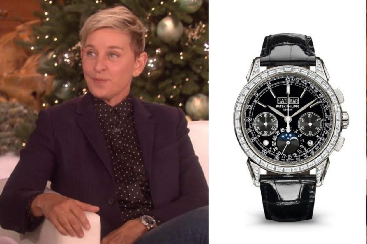 Ellen DeGeneres and PP / foto: pinterest