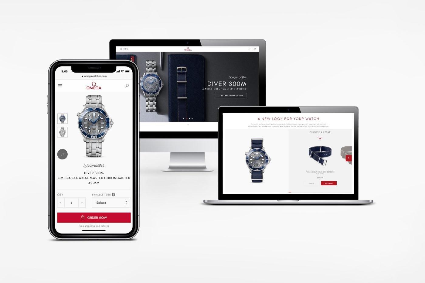 Omega otwiera sklep online