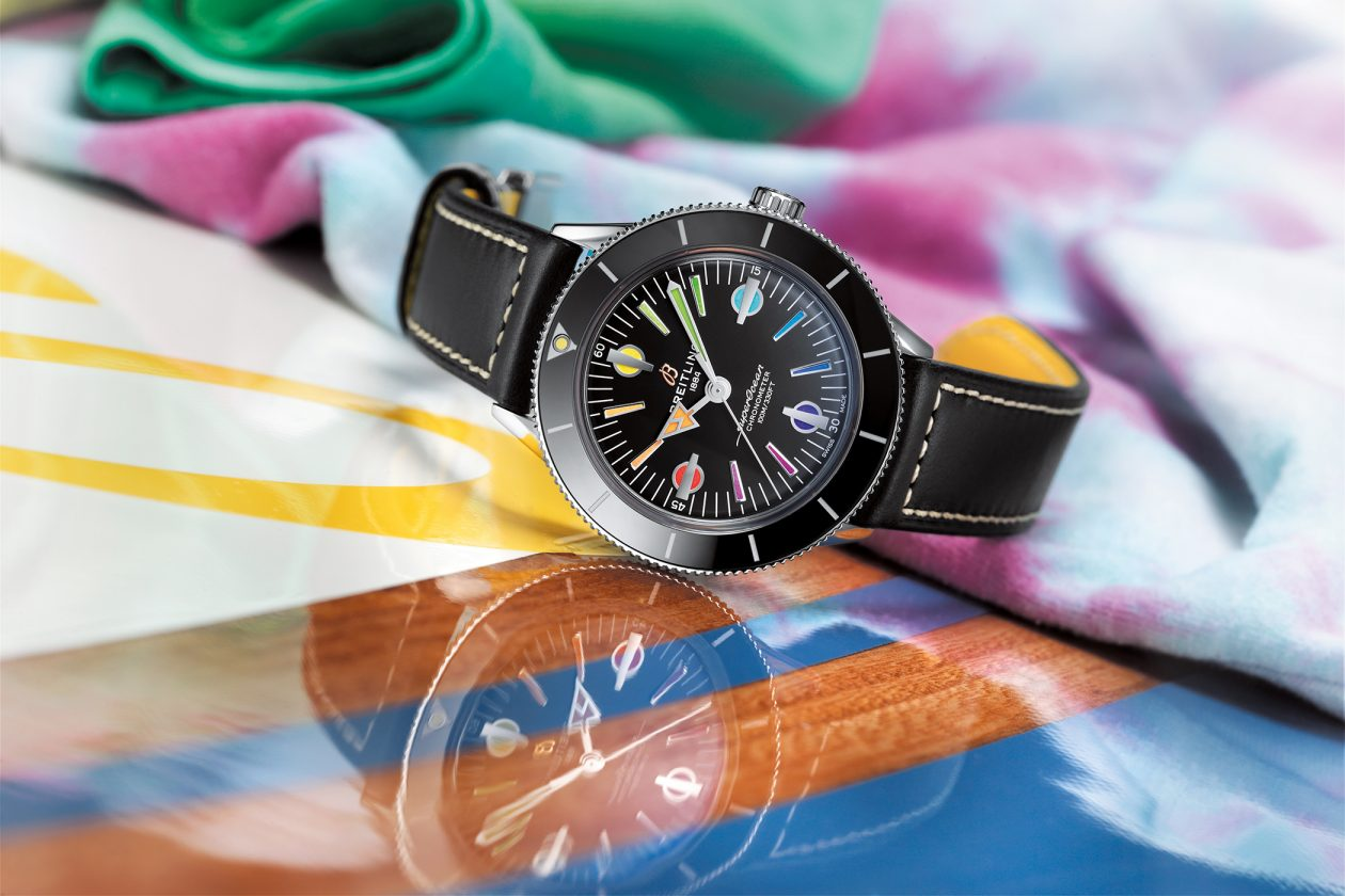 "Breitling Superocean Heritage 57 Limited Edition ""Rainbow"""