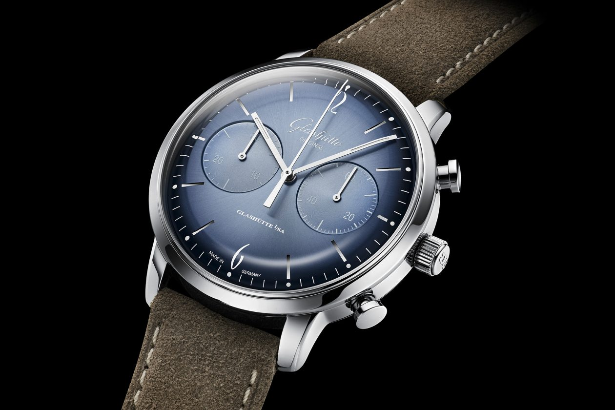 Glashütte Original Senator Sixties Chronograph Glacier Blue Annual Edition 2020