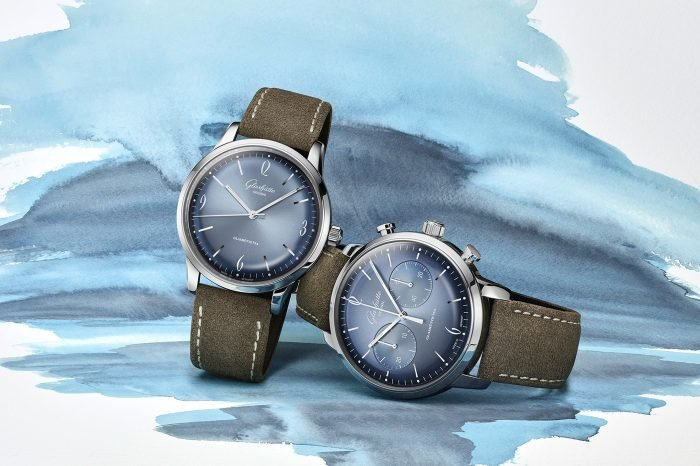 Glashütte Original Senator Sixties Glacier Blue Annual Edition 2020