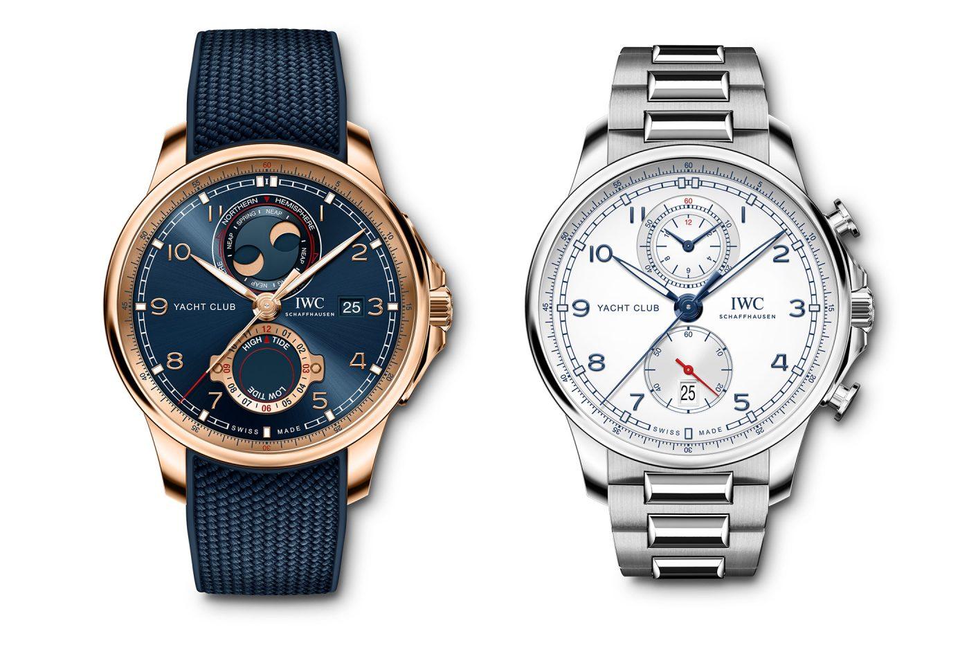 IWC Portugieser Yacht Club Chronograph i Yacht Club Moon & Tide – W&W 2020 [dostępność, cena]