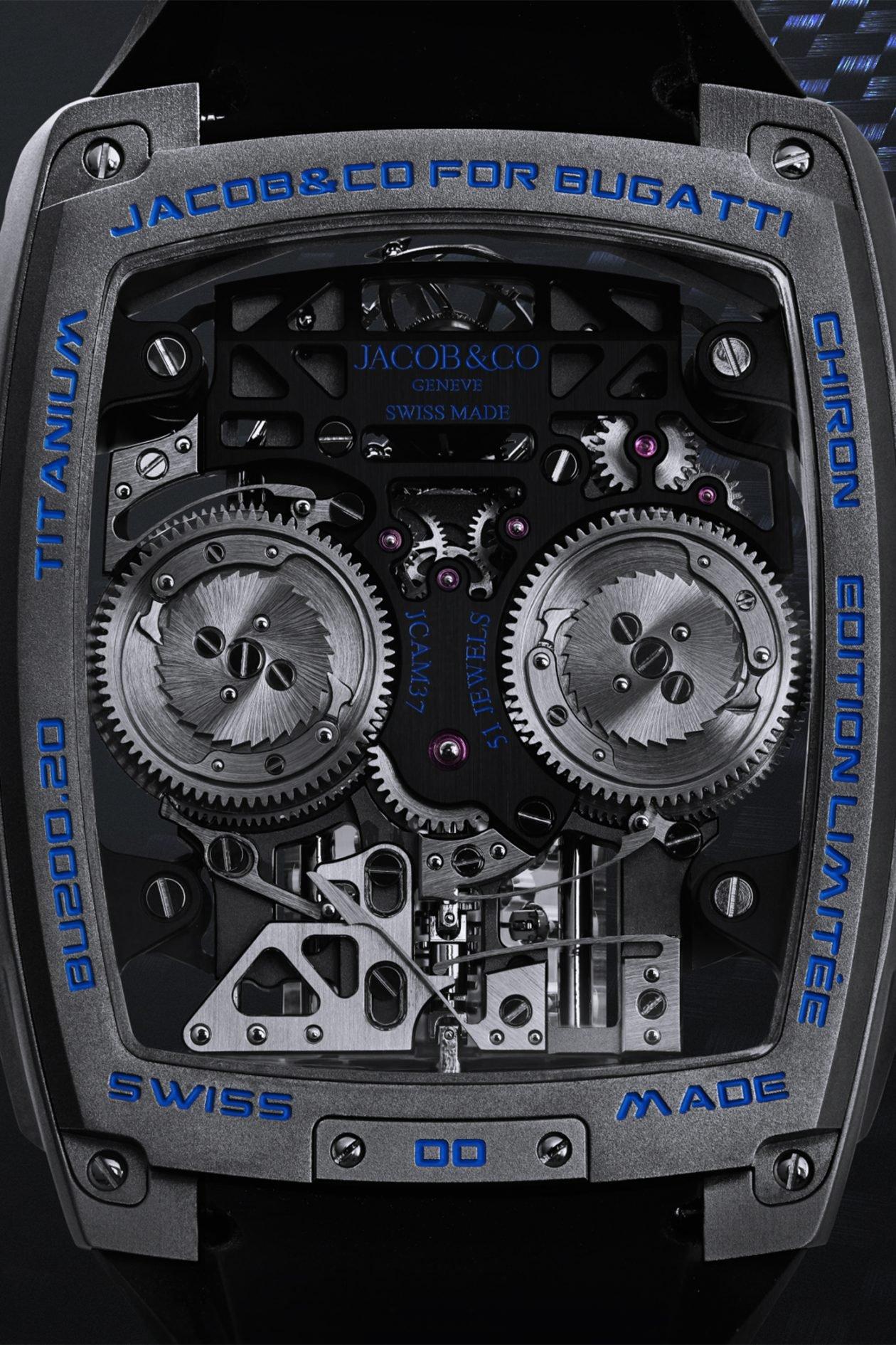Jacob & Co. Bugatti Chiron Tourbillon