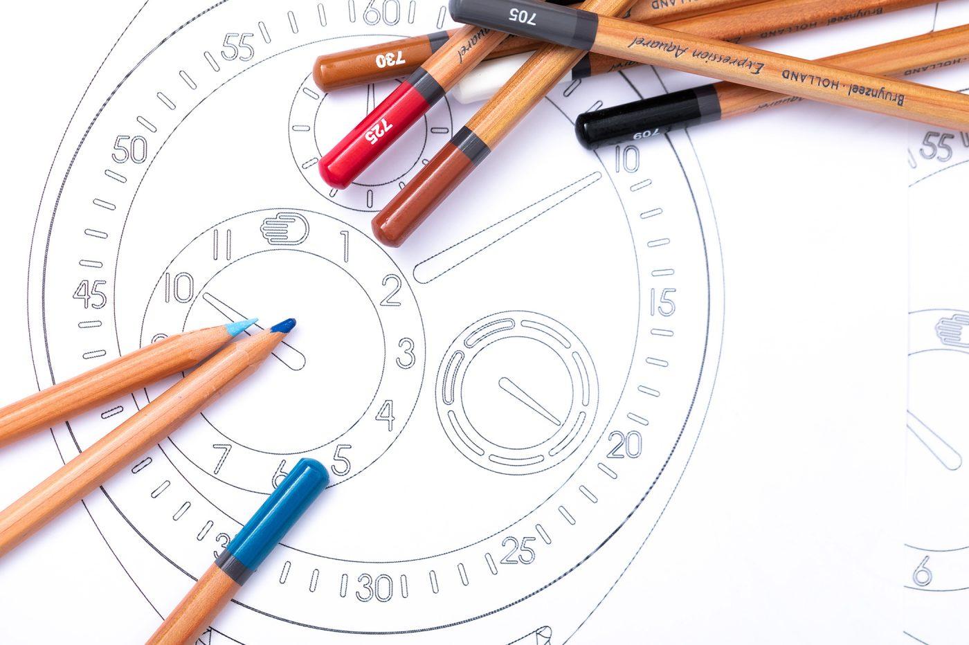 """""""Time to draw"""" – zaprojektuj unikatowy zegarek Ressence"""