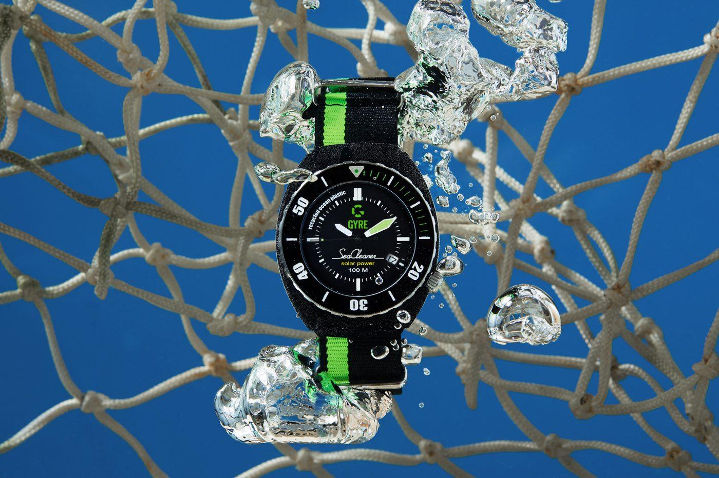 Gyre SeaCleaner – zegarek ekologiczny [dostępność, cena]