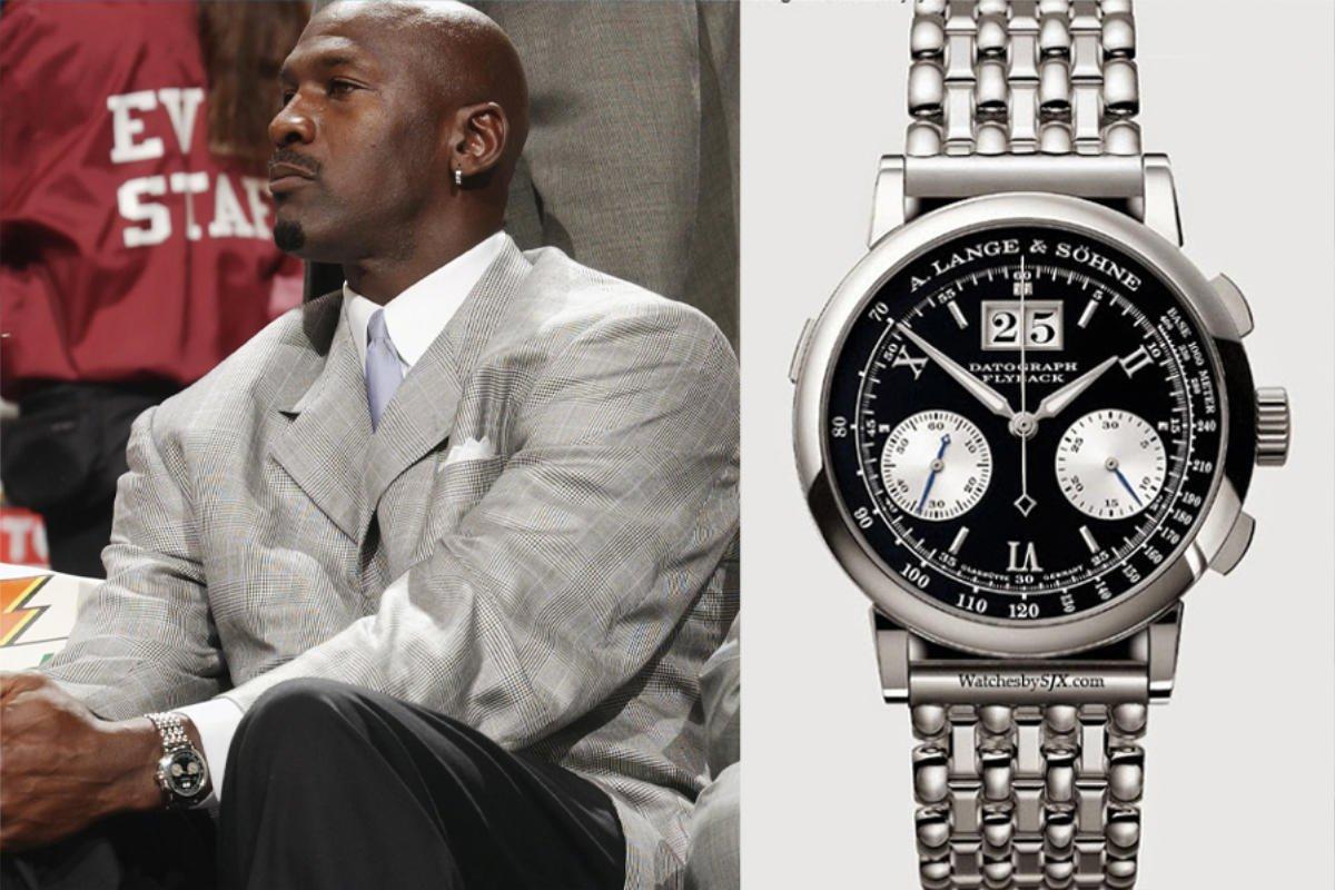 Michael Jordan & A.Lange&Sohne / foto: manofmany & watchesbysjx