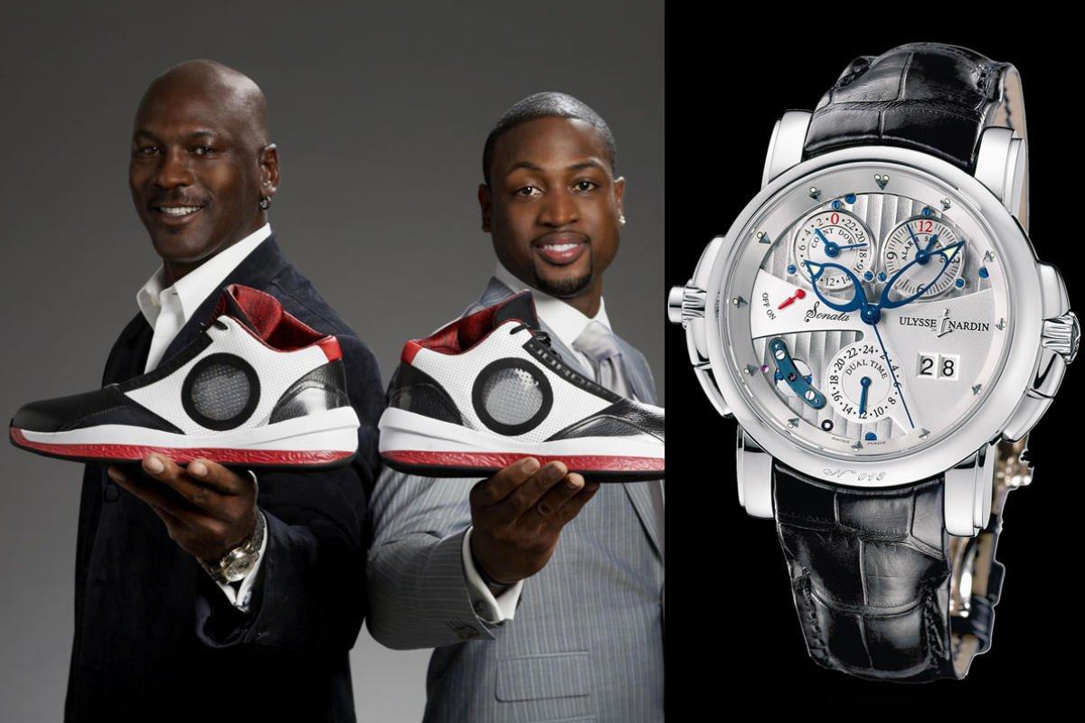 Michael Jordan & Ulysse Nardin Sonata / foto: pinterest