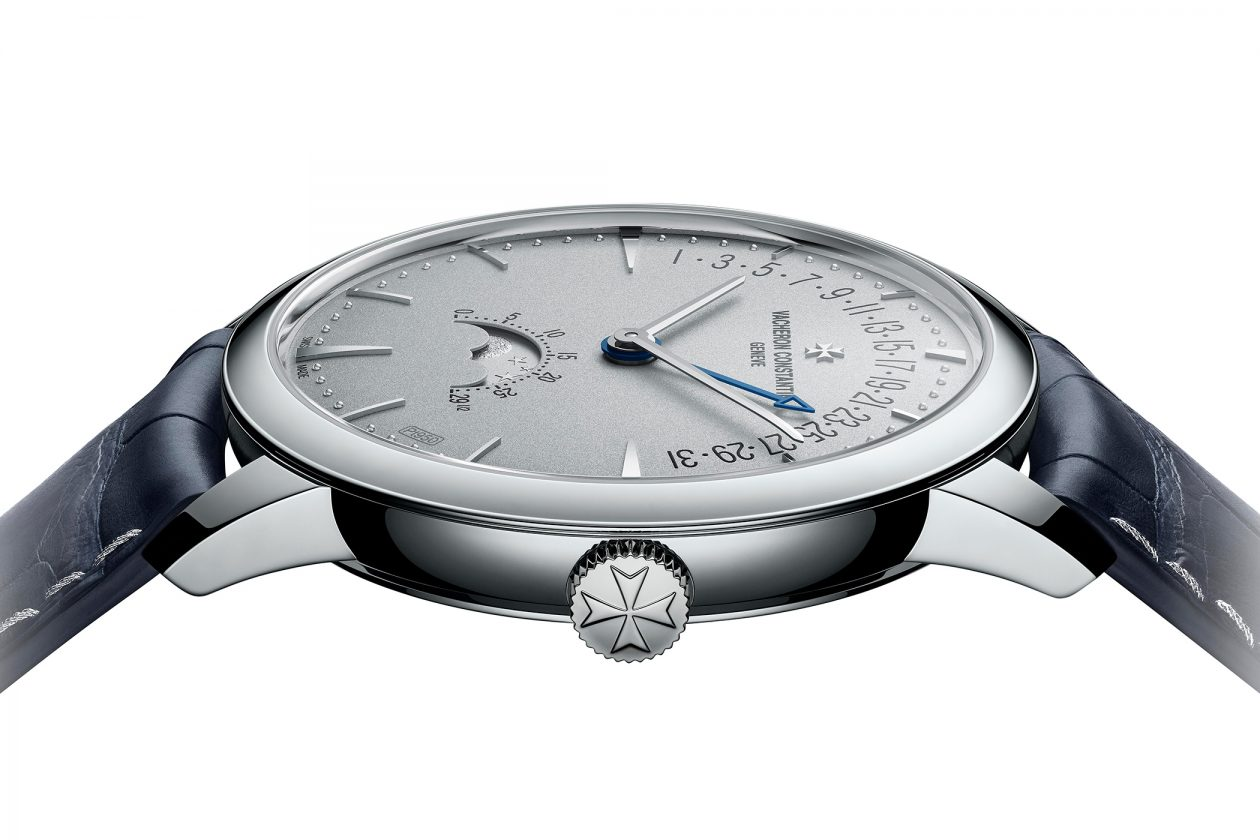 Vacheron Constantin Patrimony Moon Phase Retrograde Date Excellence Platine