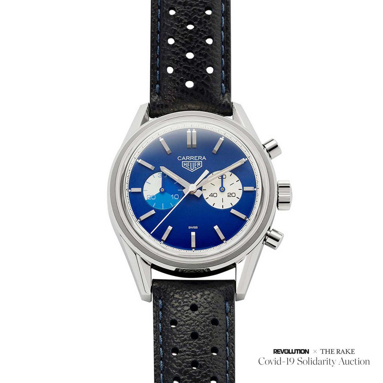 "TAG Heuera Carrera Chronograph ""Blue Dreamer"""
