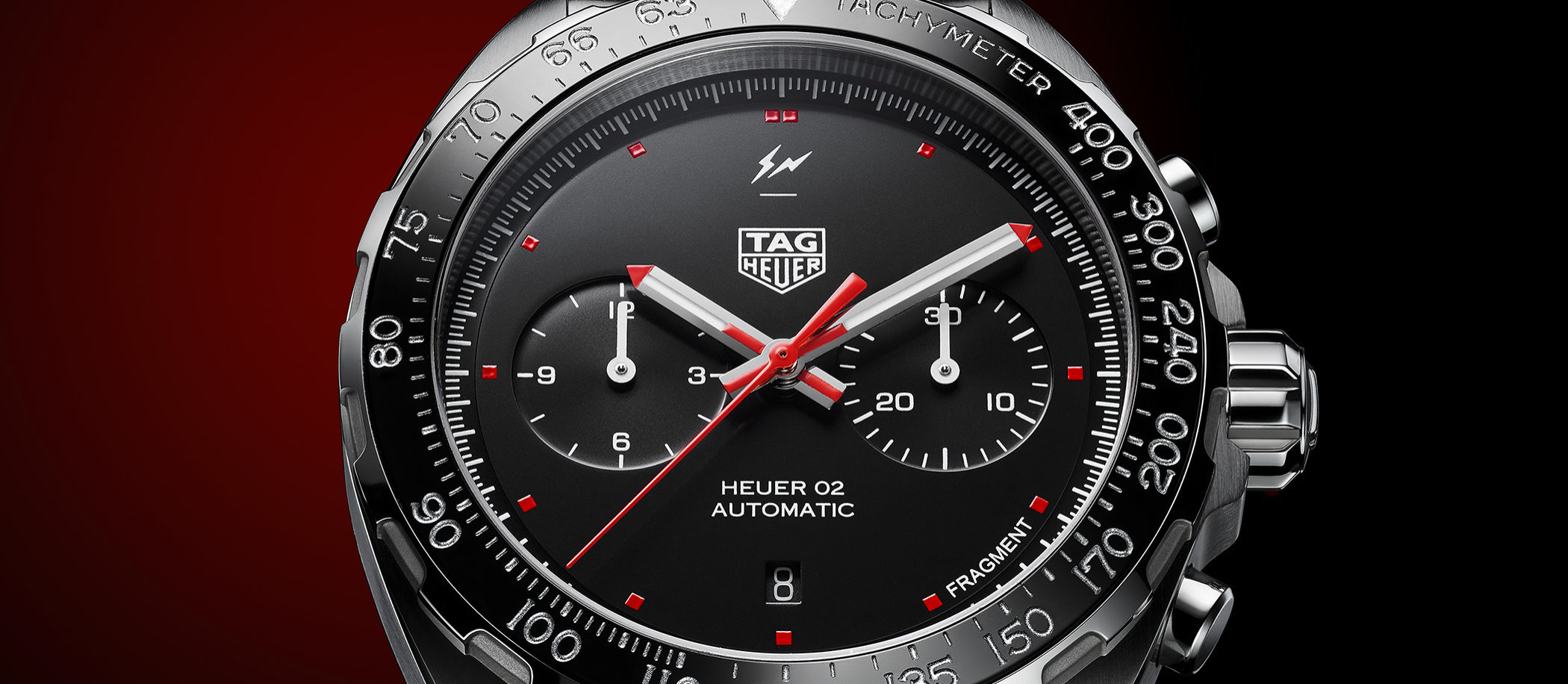 TAG Heuer x Fragment Design Heuer02 Automatic Chronograph
