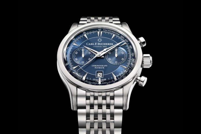 Carl F. Bucherer Manero Flyback Blue
