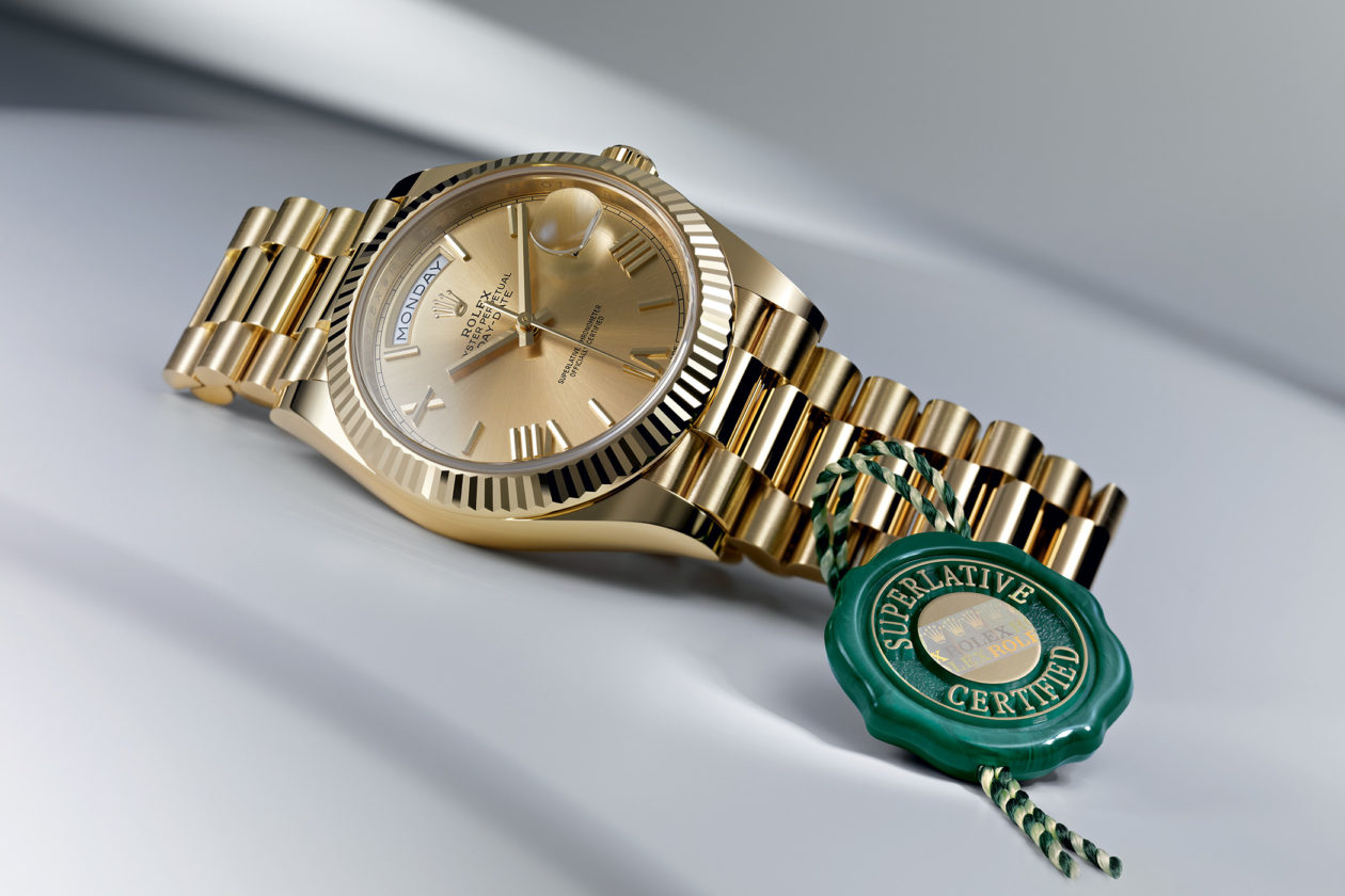 Rolex Superlative Chronometer