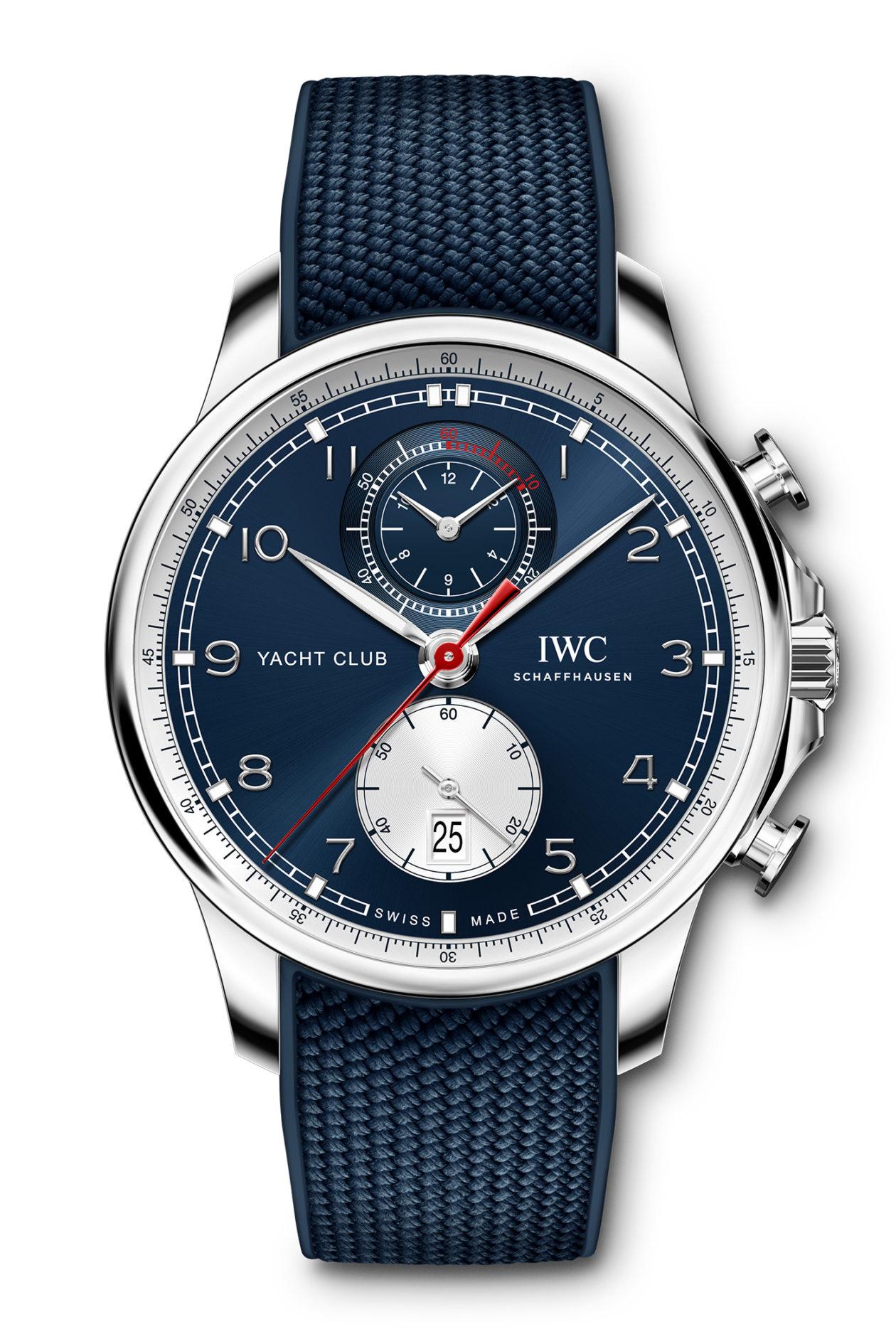 "IWC Portugieser Yacht Club Chronograph ""Orlebar Brown"""