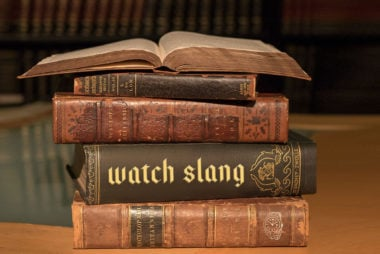 Watch slang